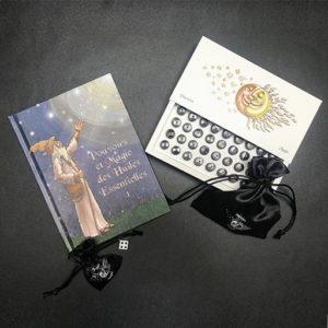 Livre 1 et coffret huiles essentielles - La magie du coeur
